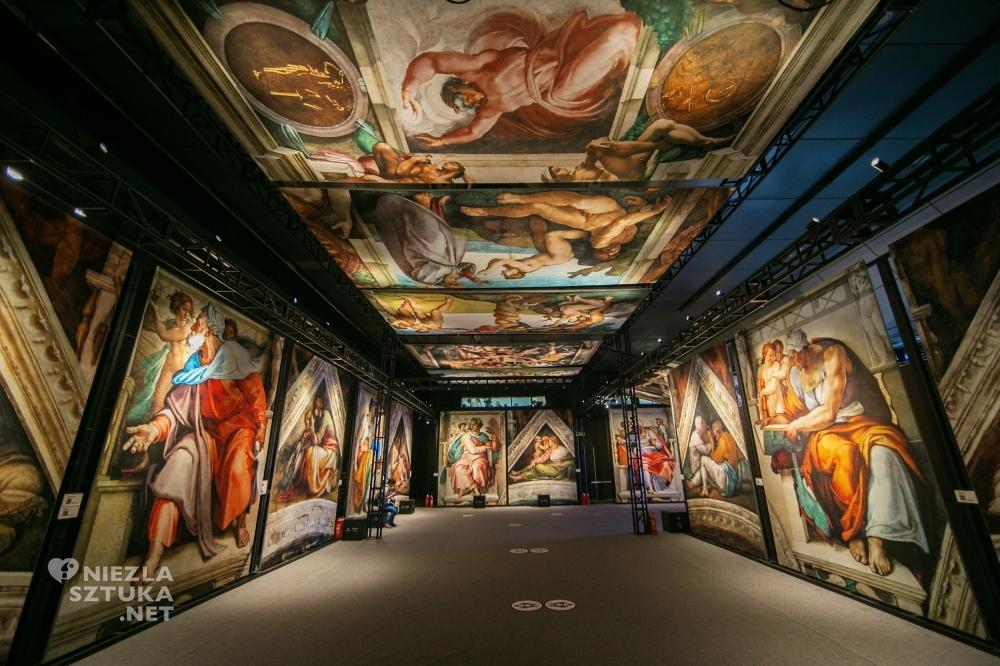 kaplica sykstyńska freski michał anioł wrocław