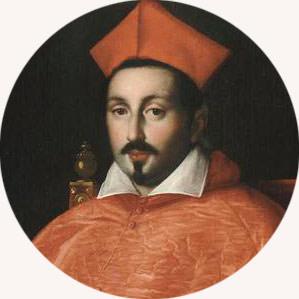 Ottavio Leoni portret kardynała Scipione Borghese