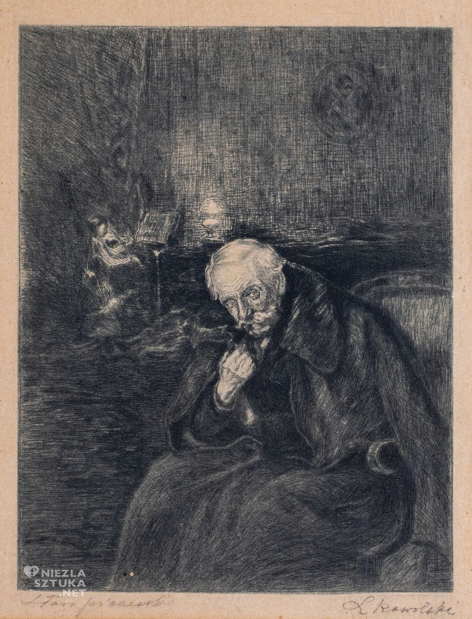 Leon Kowalski, <em>Stara piosenka (Powstanie Styczniowe) </em>, 1911, Niezła sztuka
