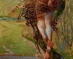 Jacek Malczewski, Wiosna, Muzeum Narodowe w Krakowie, sztuka polska, malarstwo polskie, symbolizm, Niezła sztuka