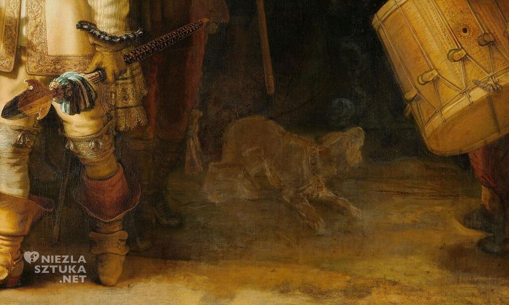 Ładowanie - Rembrandt <em>Oddział kapitana Fransa Banninga Cocqa (Straż nocna), detal </em> | 1642