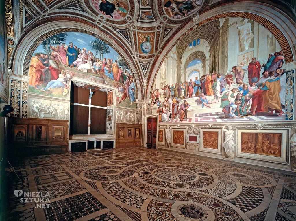 Stanza Della Segnatura, Watykan, fot. Wikipedia, Niezła sztuka