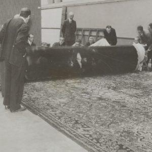 Straż nocna rozwijanie w czerwcu 1945