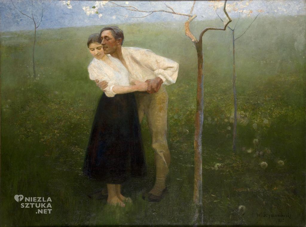 Wacław Szymanowski, Umizgi huculskie | 1892, Muzeum Narodowe w Krakowie, Niezła sztuka