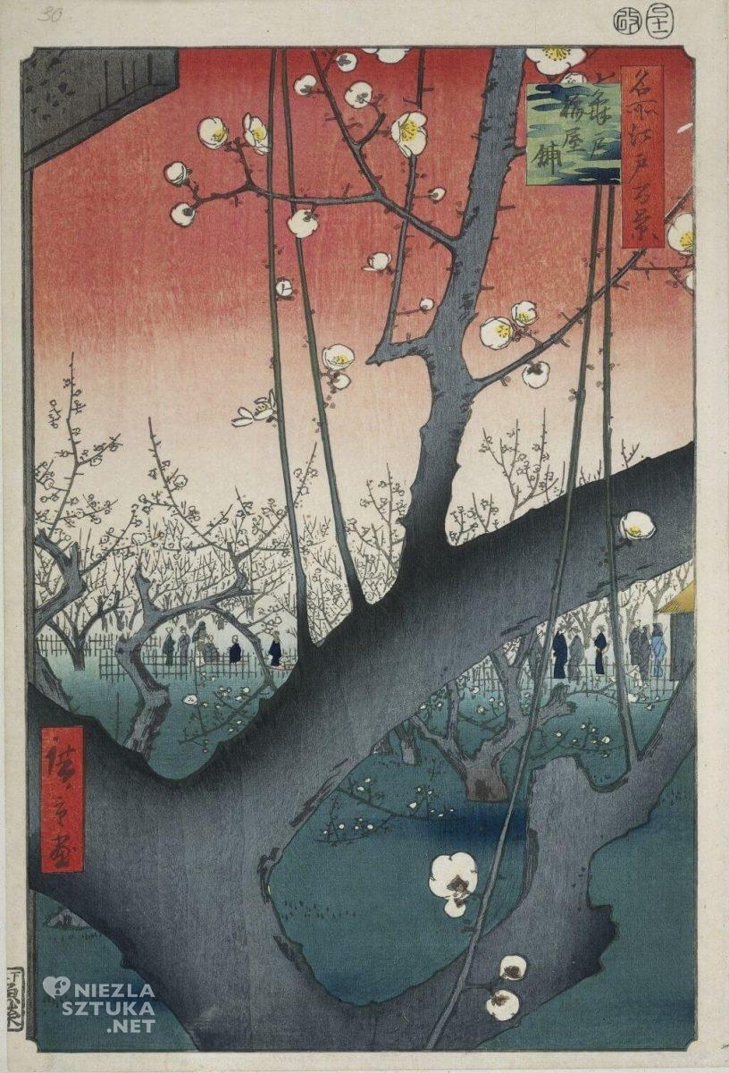 Utagawa Hiroshige Ogród śliw w Kameido, Niezła sztuka