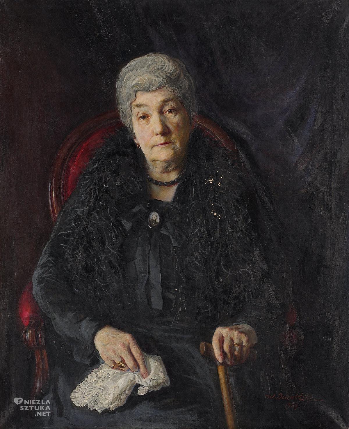 Wacław Dobrowolski Portret Heleny Geyerowej