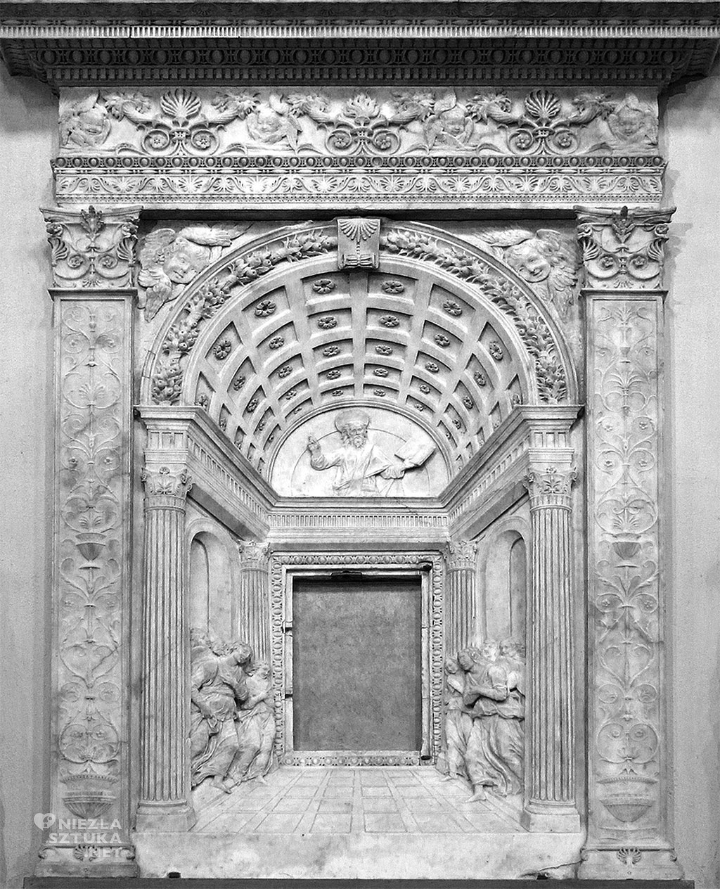 Desiderio da Settignano, Tabernaculum Św. Sakramentu, 1461, Bazylika San Lorenzo, Florencja, Niezła sztuka