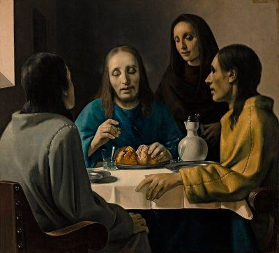 Han van Meegeren, fałszerz, Vermeer, Uczniowie w Emaus, fałszerstwa w sztuce, falsyfikat, Niezła sztuka