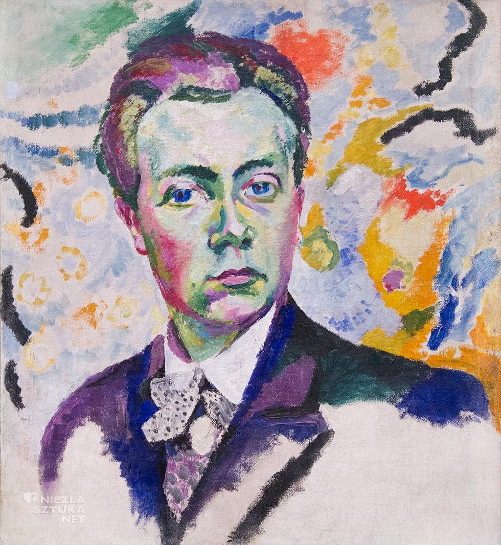 Robert Delaunay, Autoportret | 1905-06, Musée national d'Art moderne, Paryż