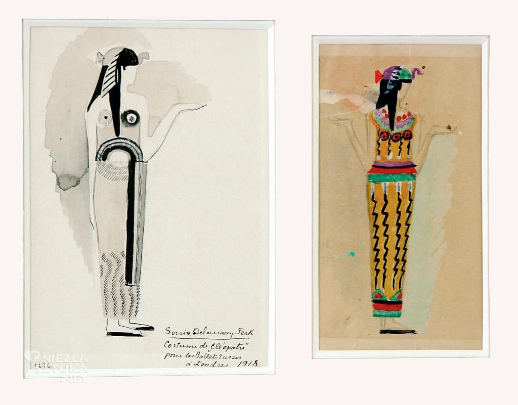 Sonia Delaunay, Projekty kostiumów do baletu Kleopatra, Niezła sztuka