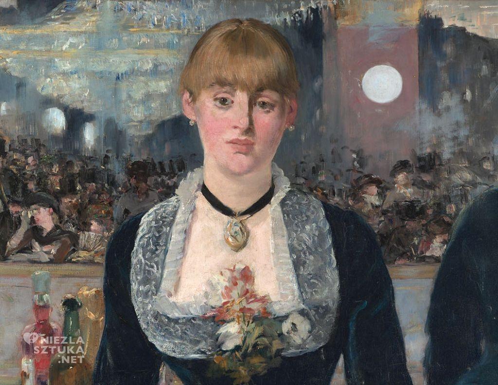 Édouard Manet, Bar w Folies-Bergère, Niezła sztuka