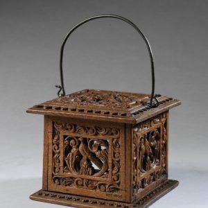Ogrzewacz stóp, ok. 1650, VAM, collections.vam.ac.uk