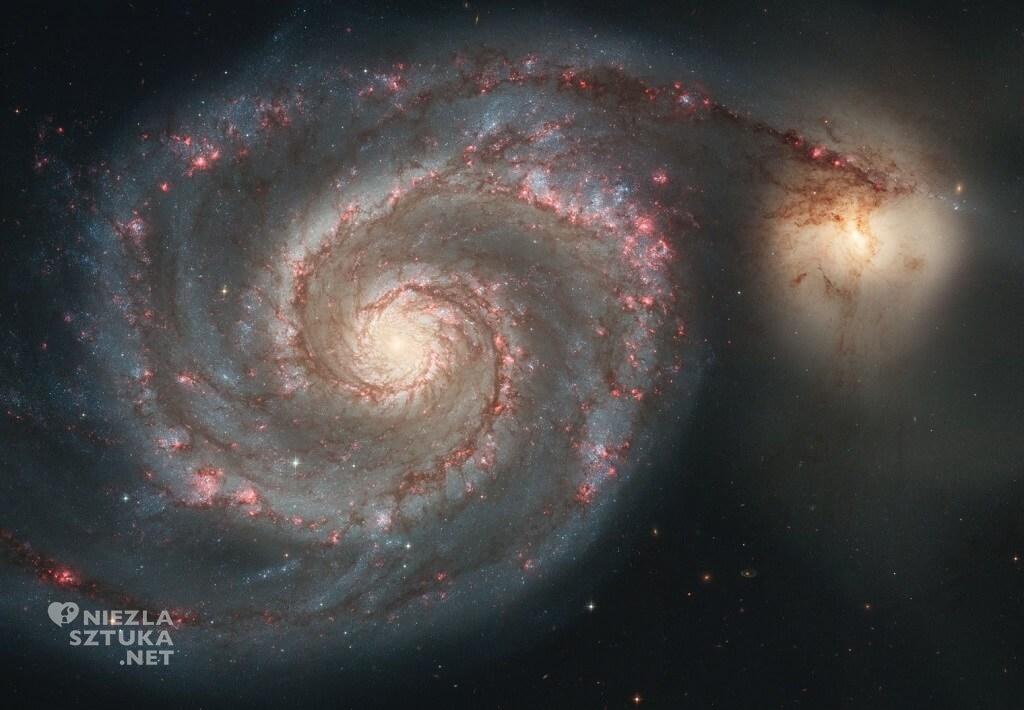 Widok Galaktyki Wir / Teleskop Hubble'a 2005 r. // NASA
