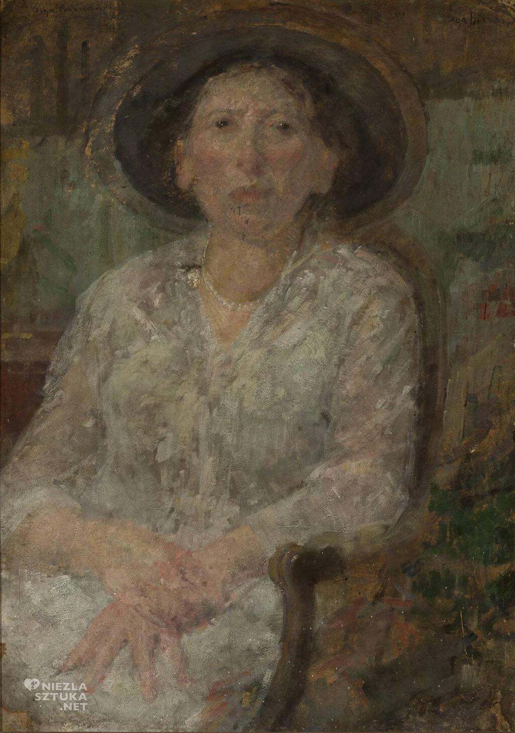 Olga Boznańska, Portret panny Ellen, sztuka polska, Niezła sztuka