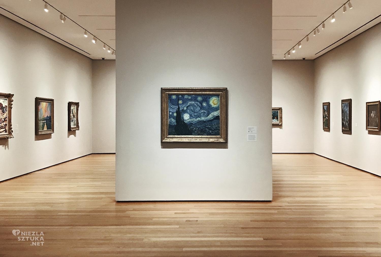 Vincent van Gogh, Gwiaździsta noc, Moma, Niezła Sztuka