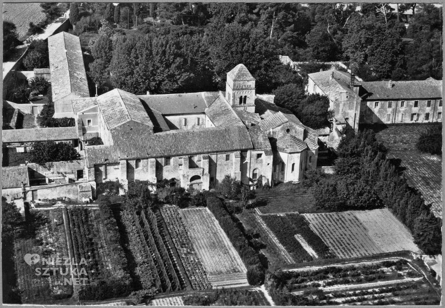 vincent van gogh, szpital św. Pawła w Saint-Rémy de Provence, niezła sztuka