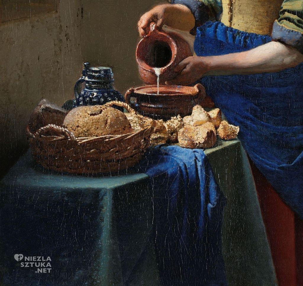 Johannes Vermeer Mleczarka, detal | ok. 1660, Rijksmuseum, Amsterdam