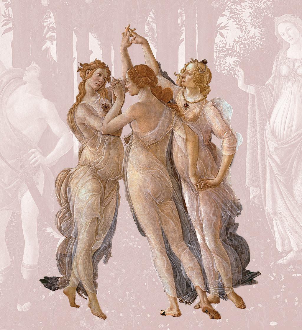 Sandro Botticelli, Wiosna, Medici, Trzy Gracje, Niezła Sztuka