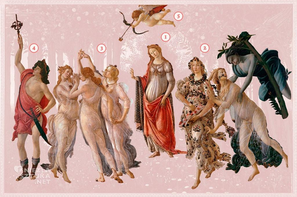 Sandro Botticelli, Wiosna, Simonetta Vespucci, Niezła Sztuka