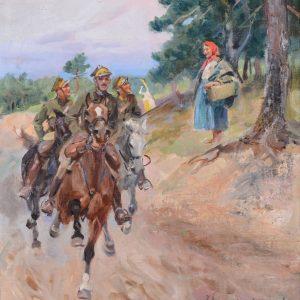 Wojciech Kossak, malarstwo polskie, aukcja sztuki, Niezła Sztuka