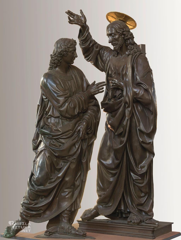 Andrea del Verrocchio, Niewierny Tomasz, rzeźba, sztuka włoska, Niezła sztuka