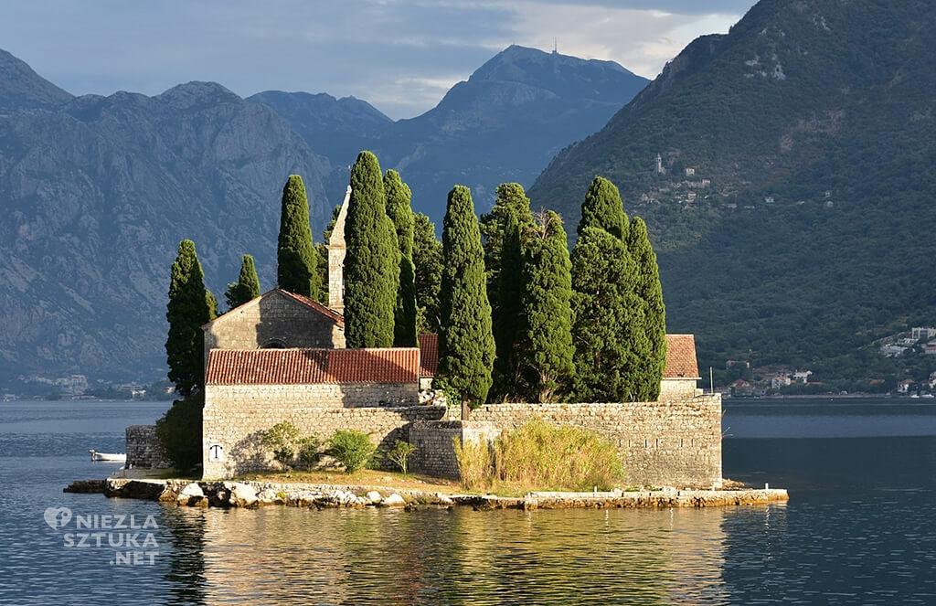 Wyspa Św. Jerzego, Zatoka Kotorska, Czarnogóra, fot. Wikipedia