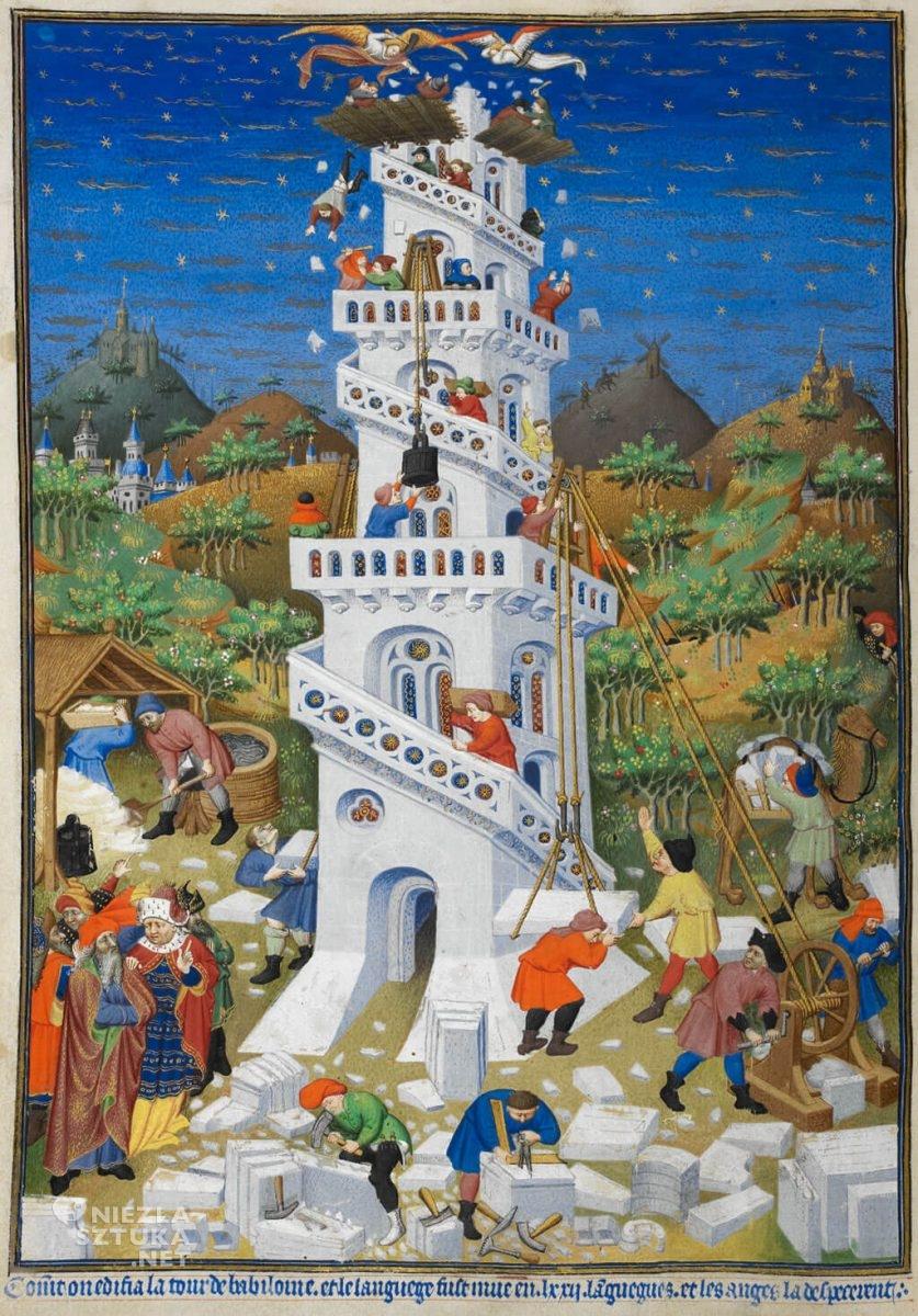Budowa wieży Babel, British Library, Niezła sztuka