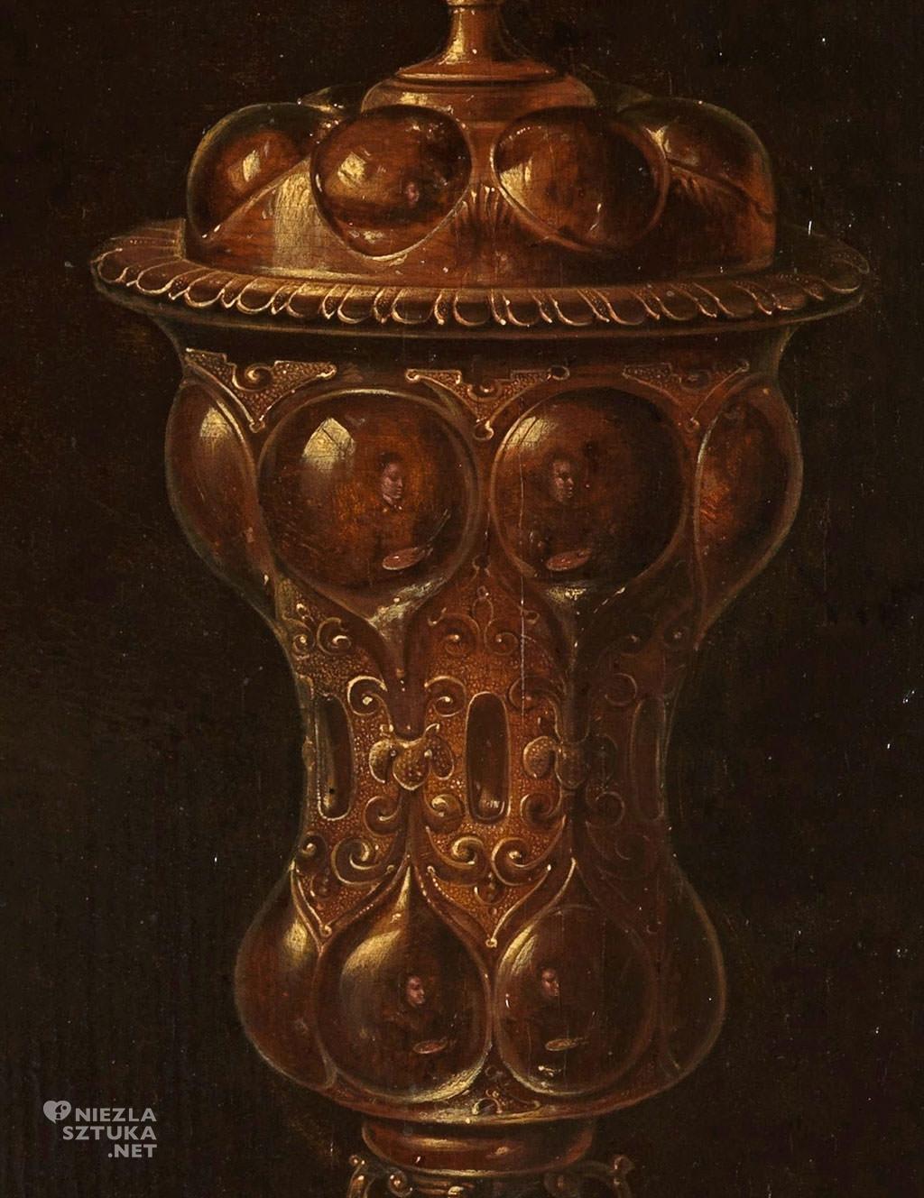 Clara Peeters, Martwa natura z kwiatami i złotymi pucharami, Niezła sztuka