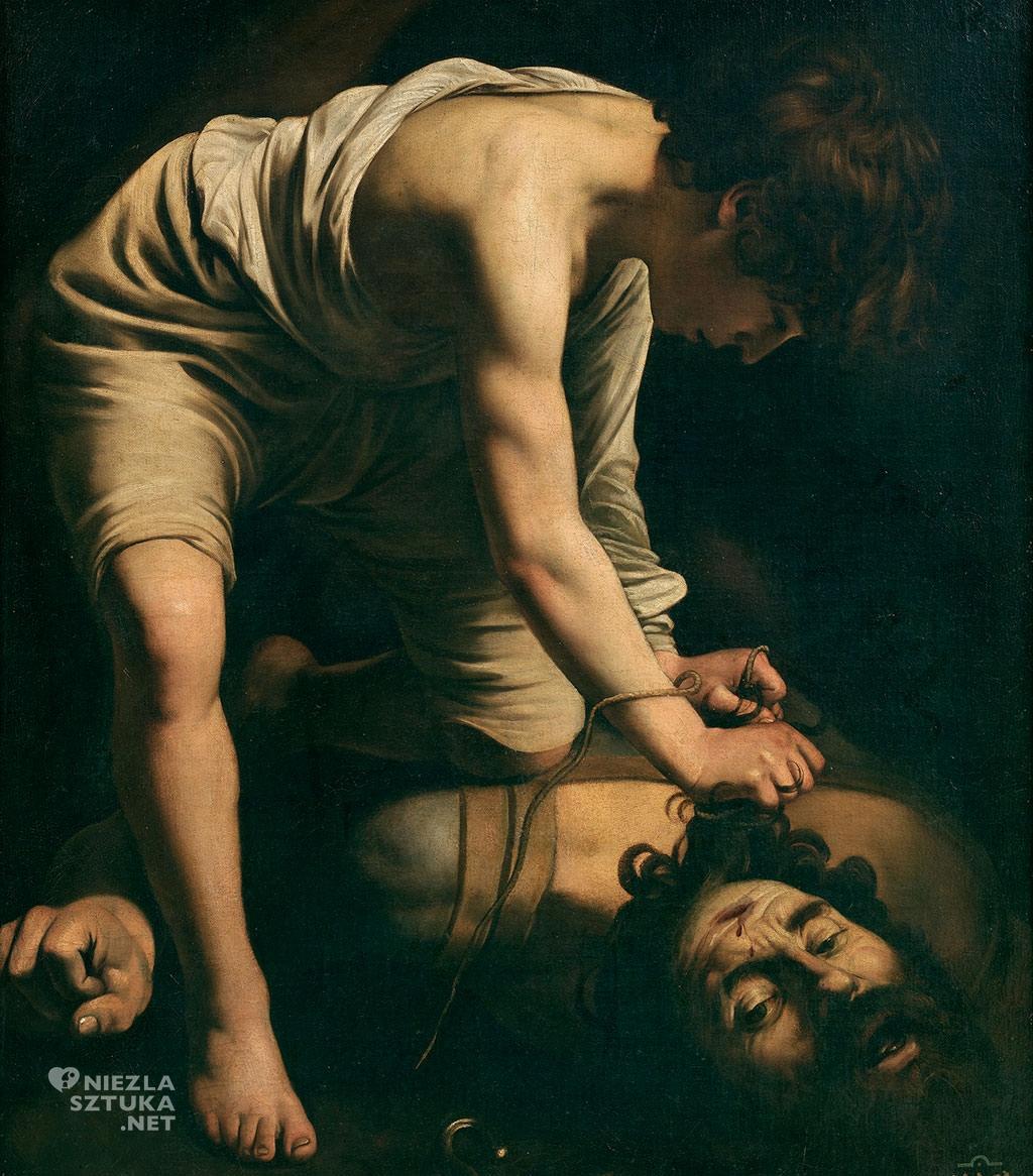 Caravaggio, Dawid z głową Goliata, Prado, sztuka włoska, Niezła sztuka