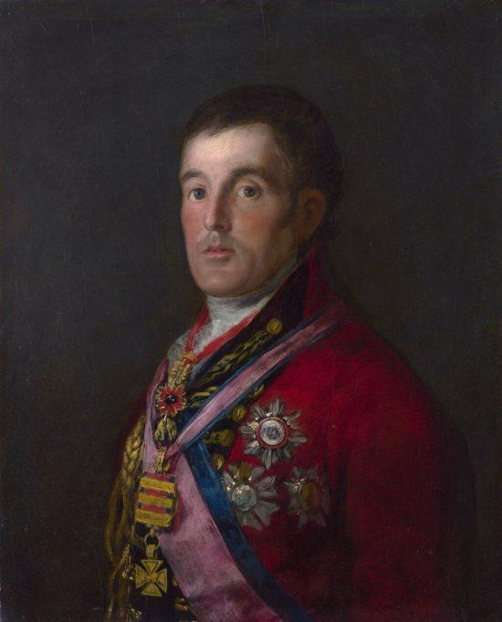 Francisco Goya, Portret księcia Wellingtona, malarstwo hiszpańskie, Niezła sztuka