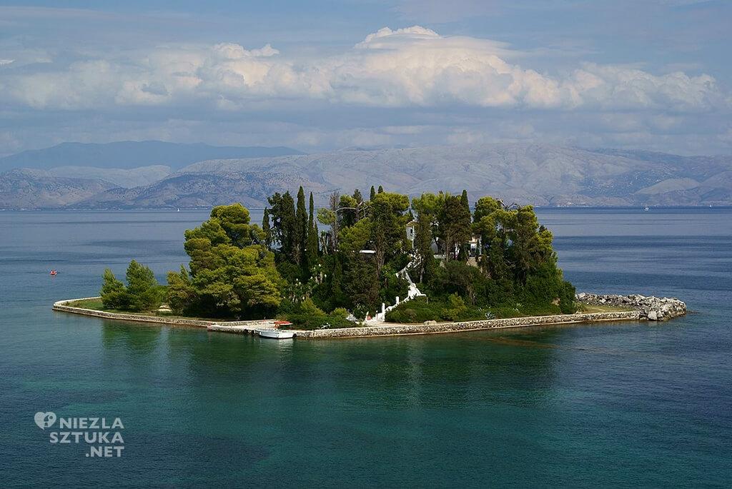 Wyspa Pontikonisi, Grecja, fot. Wikipedia, Niezła sztuka