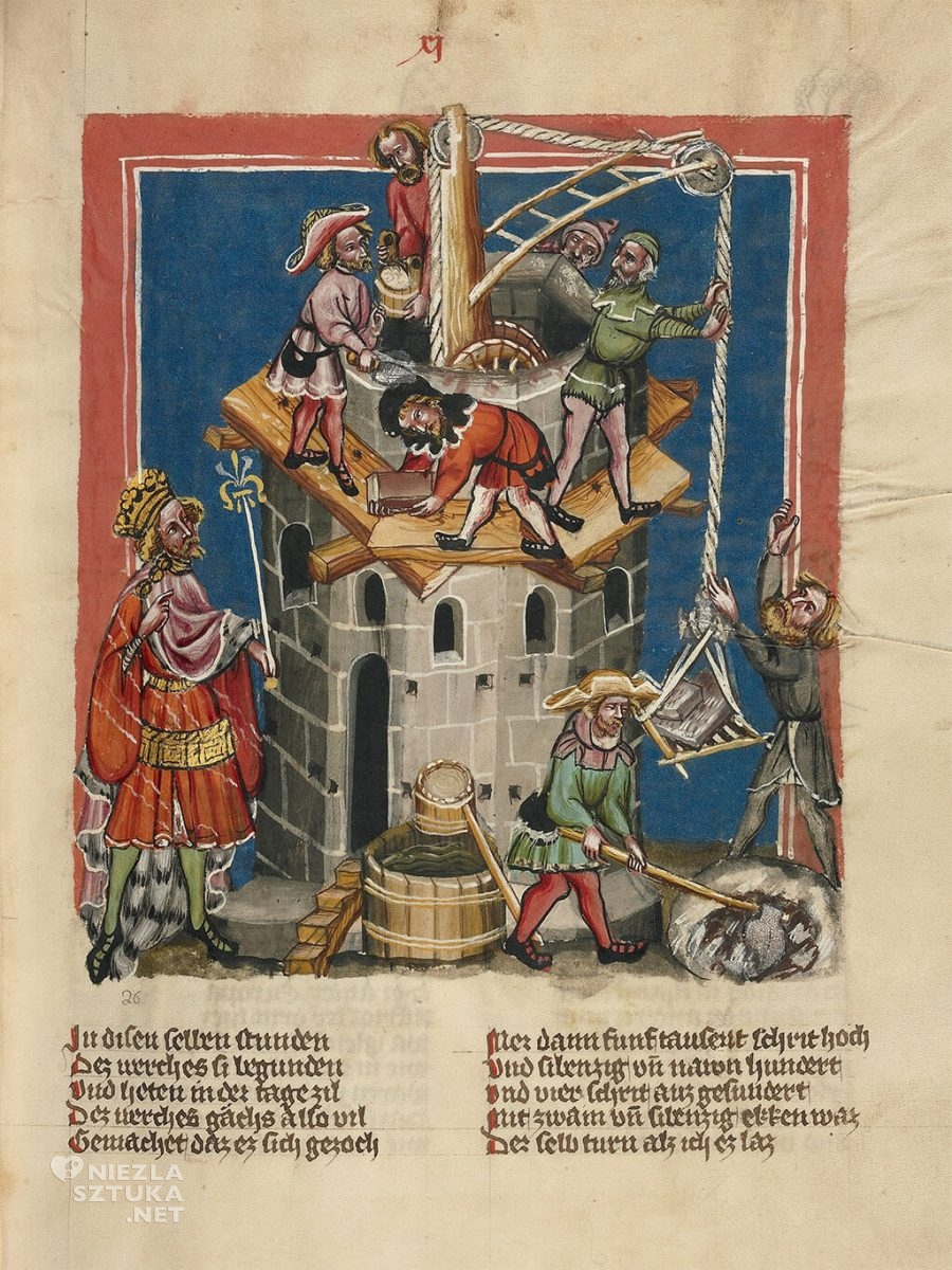 Budowa wieży Babel, Google Art Project, Niezła sztuka