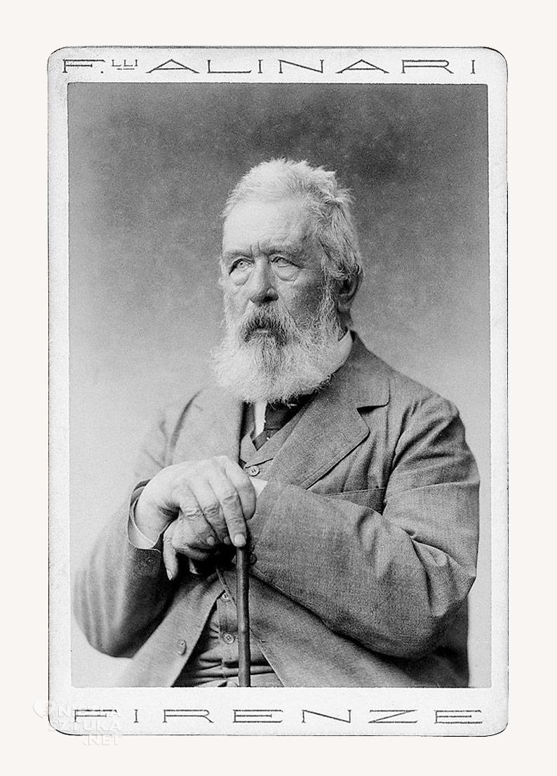 Arnold Böcklin, fot. Universitätsbibliothek Basel