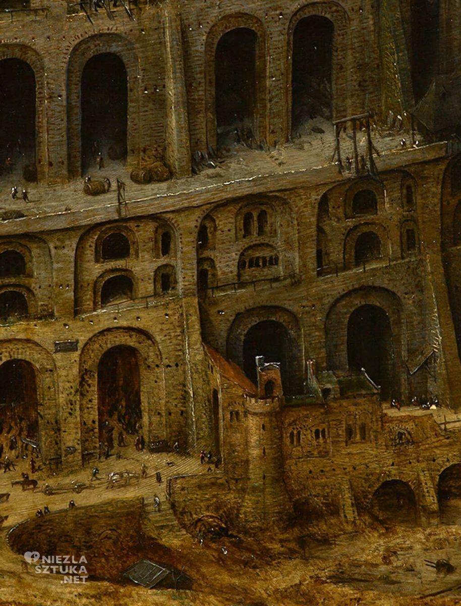 Pieter Bruegel Starszy Wieża Babel, Museum Boijmans Van Beuningen, Rotterdam