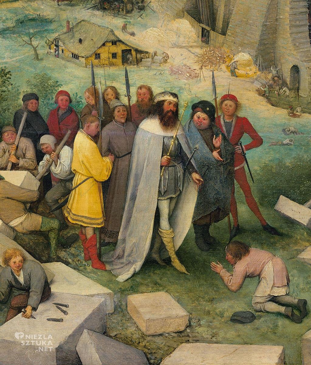 Pieter Bruegel Starszy, Wieża Babel, 1563, Kunsthistorisches Museum, Wiedeń, Niezła sztuka