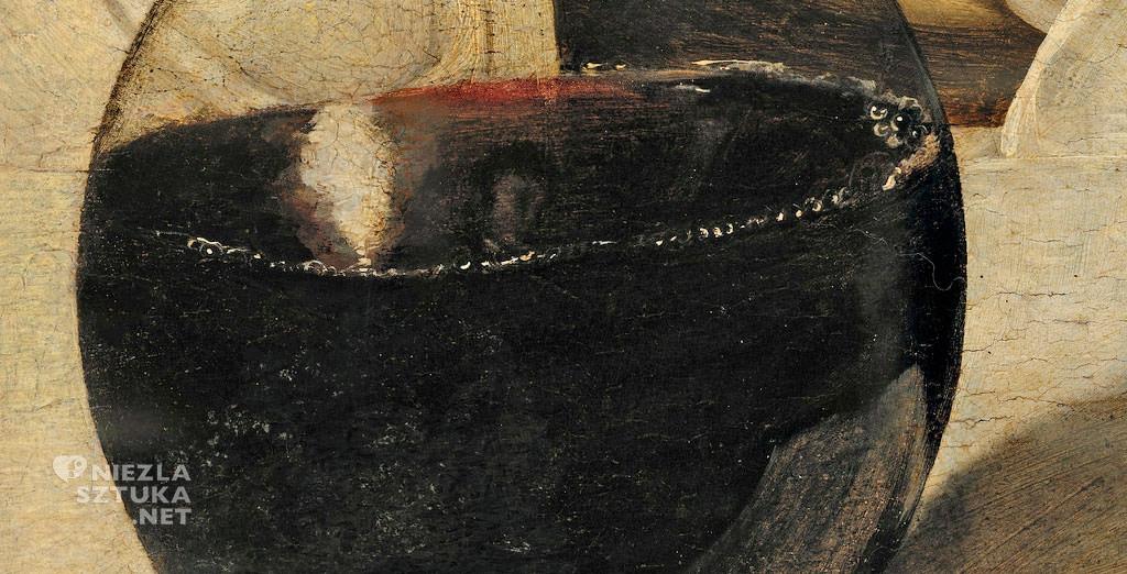 Caravaggio, Bachus, Galeria Uffizi, malarstwo włoskie, Niezła sztuka