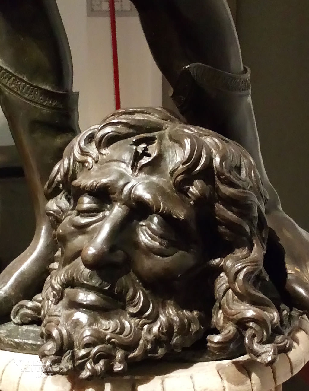 Andrea del Verrocchio, Dawid, sztuka włoska, rzeźba, Niezła sztuka