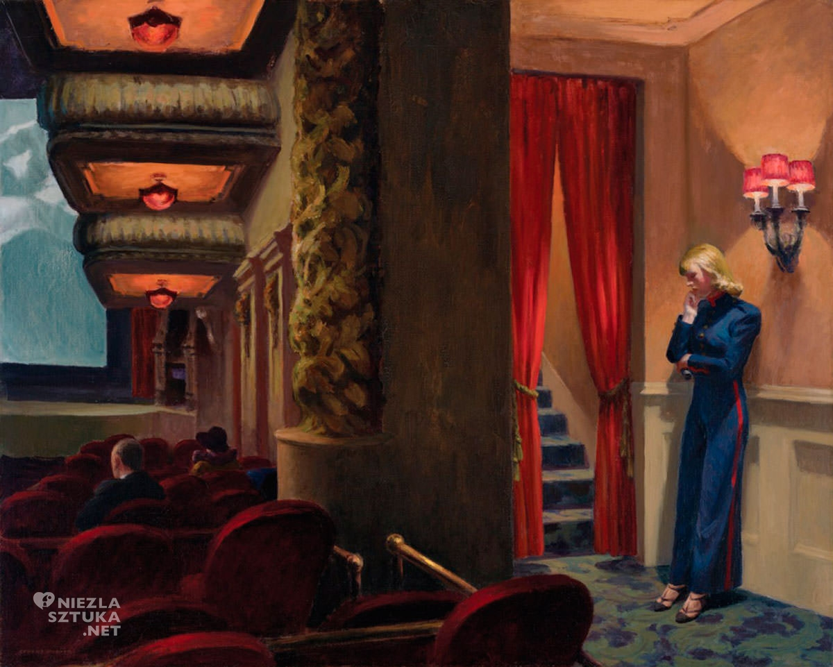 Edward Hopper, New York Movie | 1939, olej, płótno, Museum of Modern Art, Nowy Jork