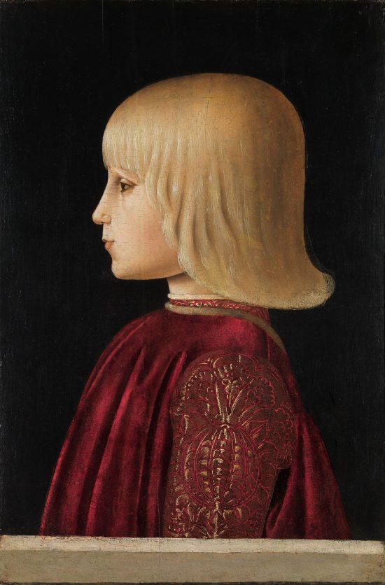 Piero della Francesca, Portret chłopca, Guidobaldo da Montefeltro, Federico da Montefeltro, Museo Nacional Thyssen-Bornemisza, Madryt, Niezła sztuka
