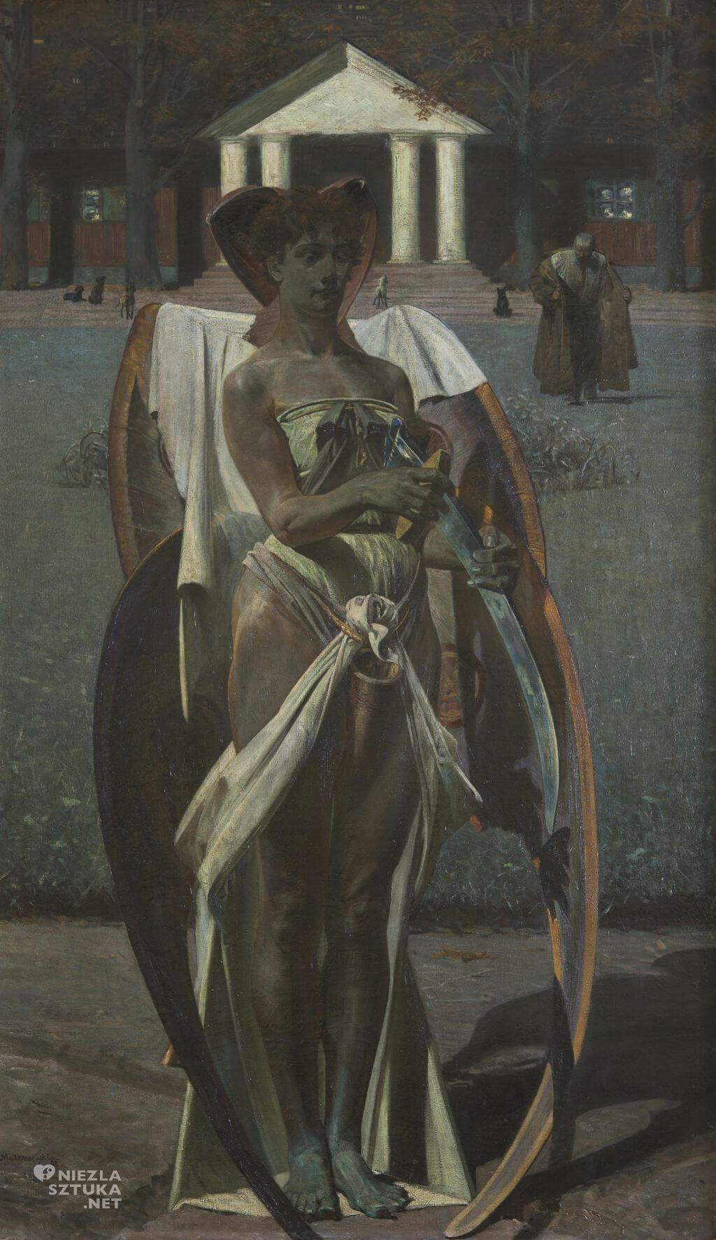 Jacek Malczewski, Thanatos I, Muzeum Narodowe w Poznaniu, malarstwo polskie, Niezła Sztuka