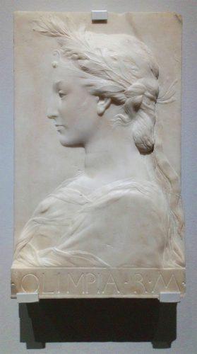 Desiderio da Settignano, Olimpias, królowa Macedonii