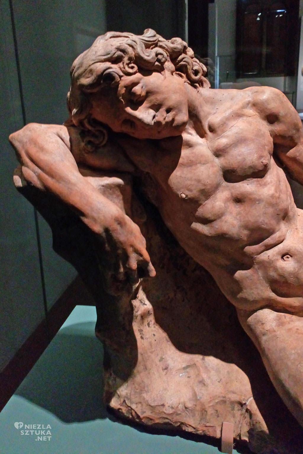 Andrea del Verrocchio, Śpiący młodzieniec
