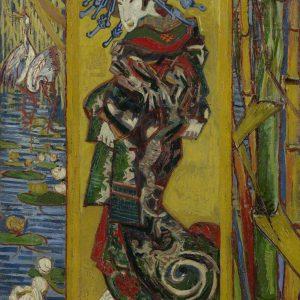 Vincent van Gogh, kurtyzana, malarstwo holenderskie, japonizm, Niezła Sztuka