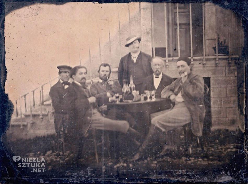 fotografia Émile Bernard, Vincent van Gogh, André Antoine, Paul Gauguin