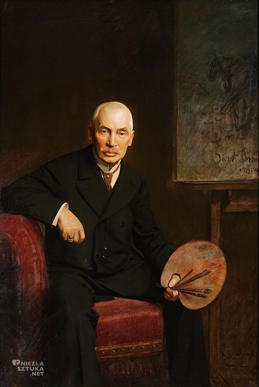 Bolesław Szańkowski, Portret Józefa Brandta, sztuka polska, batalistyka, malarstwo polskie, malarstwo historyczne, Niezła sztuka