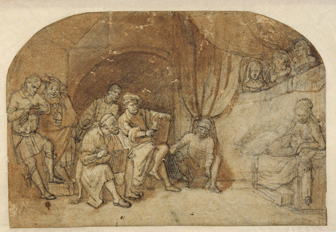 Constantijn à Renesse, Rembrandt i jego uczniowie, Darmstadt, Niezła sztuka