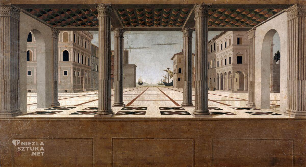 Francesco di Giorgio Martini, Weduta architektoniczna, Niezła sztuka