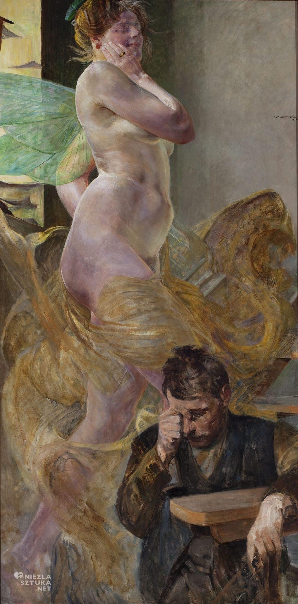 Jacek Malczewski, Wizja, sztuka polska, malarstwo polskie, Niezła sztuka