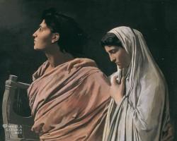 Anselm Feuerbach, Orfeusz i Eurydyka, Belvedere, Wiedeń, Niezła sztuka