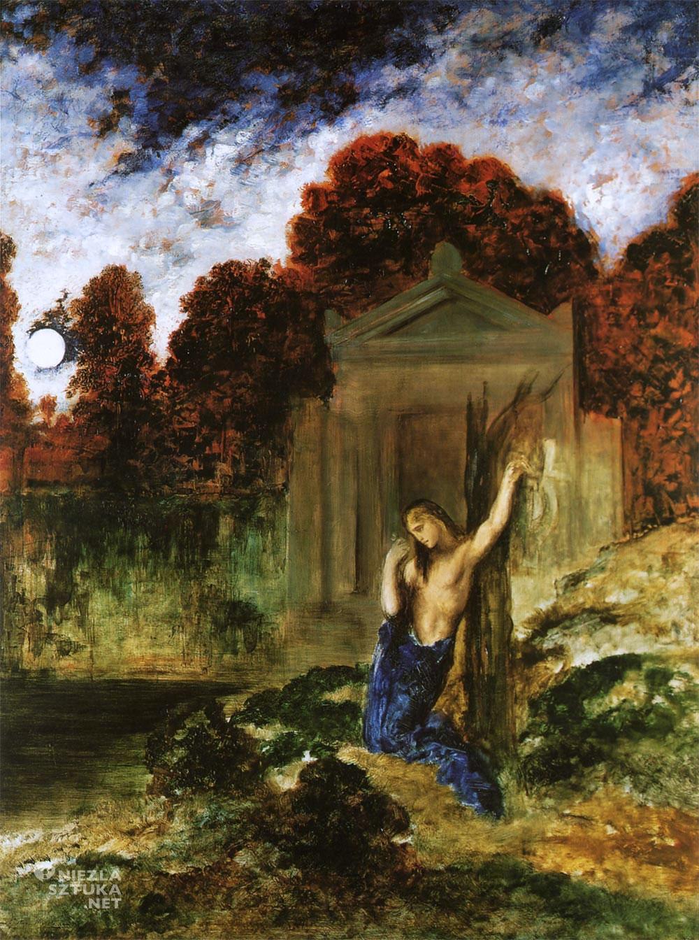 Gustave Moreau, Orfeusz przy grobie Eurydyki, Eurydyka, Niezła sztuka